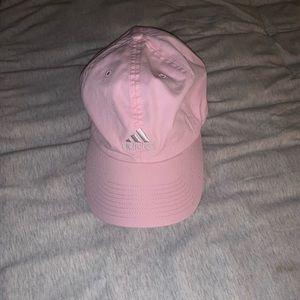 Women's pink adidas hat